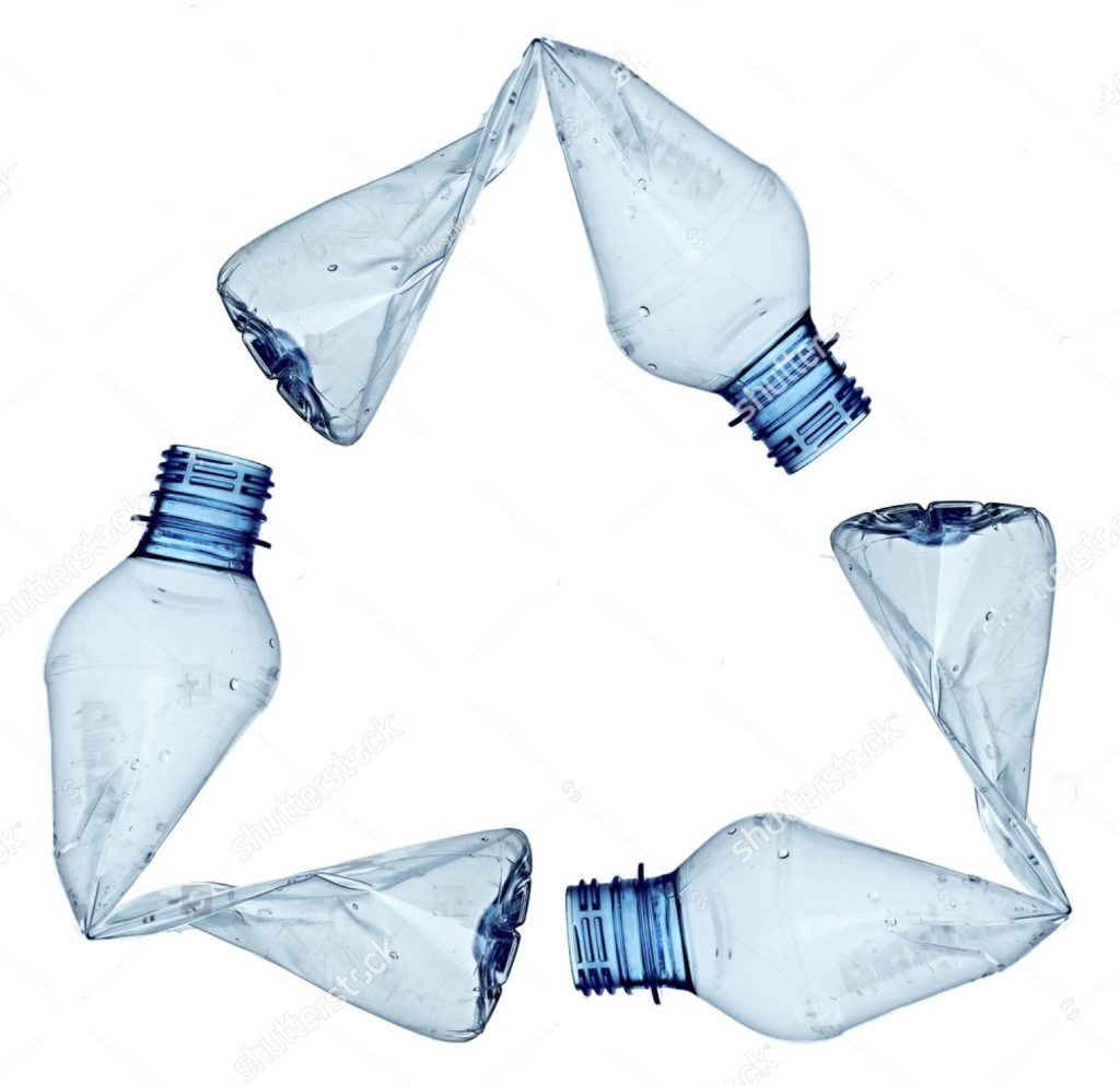 ペットボトルのリサイクルイメージ