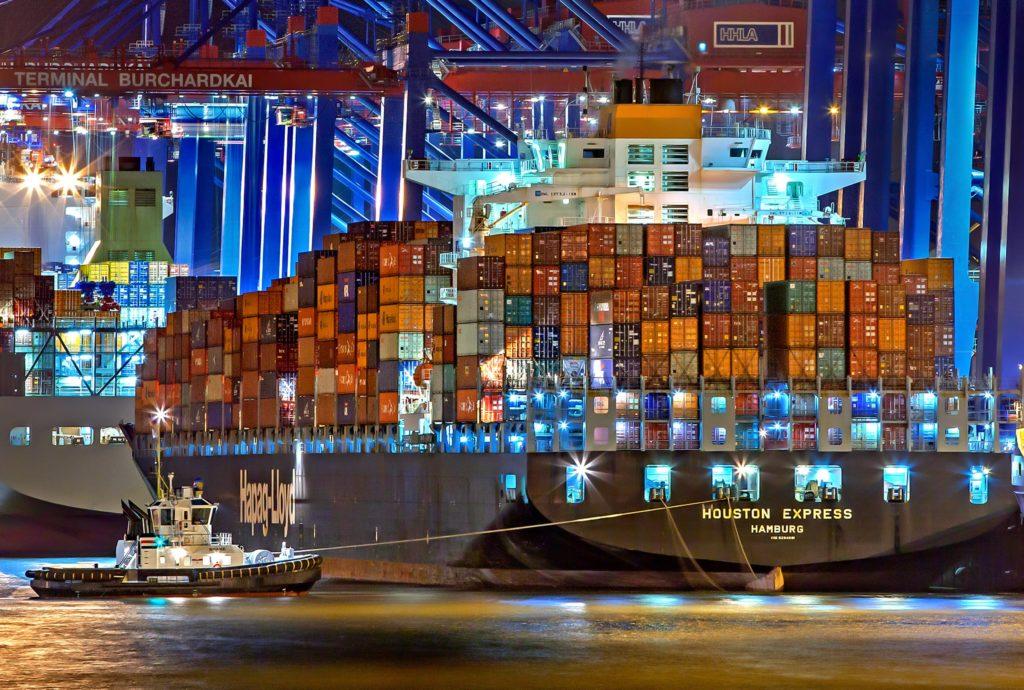 コンテナ貨客船のイメージ