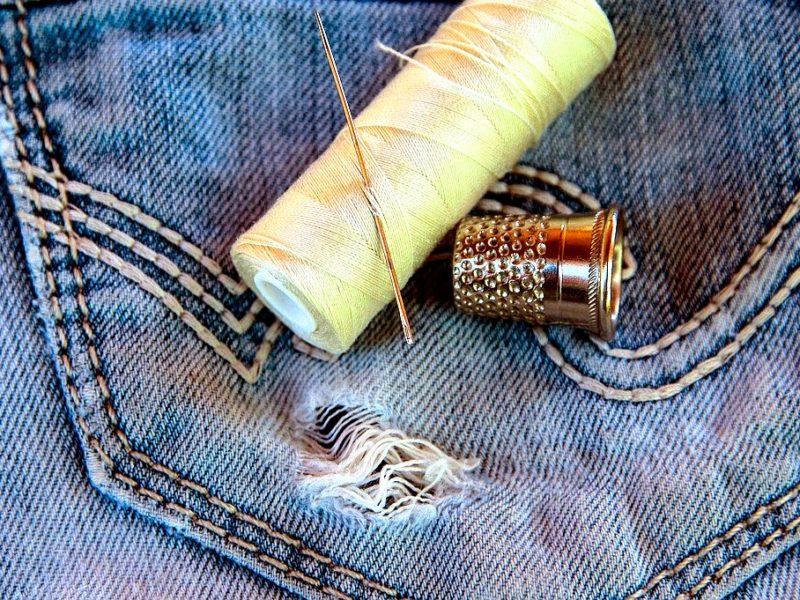 アップサイクルジーンズ ファッション